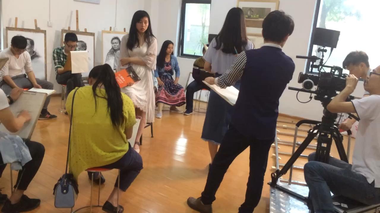 武汉青桐艺考画室宣传片花絮[偷笑][偷笑]