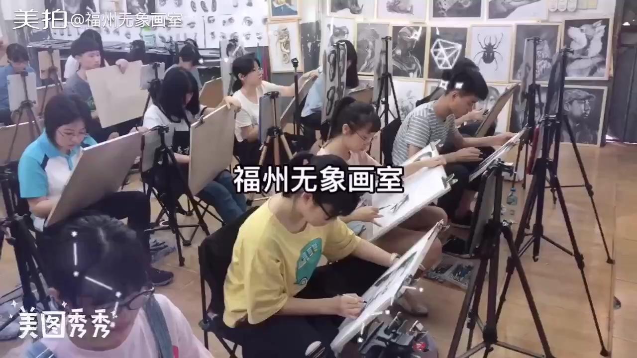 福州无象画室6月份学员精微素描作品欣赏……