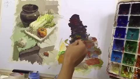 【名师驻场】让色彩变得更简单~第二遍调整画面的方法如下~可惜只能上传10秒的……