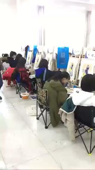 寒假班色彩班😏