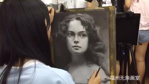 无象画室学员素描作品欣赏,精品教学你值得拥有❤️