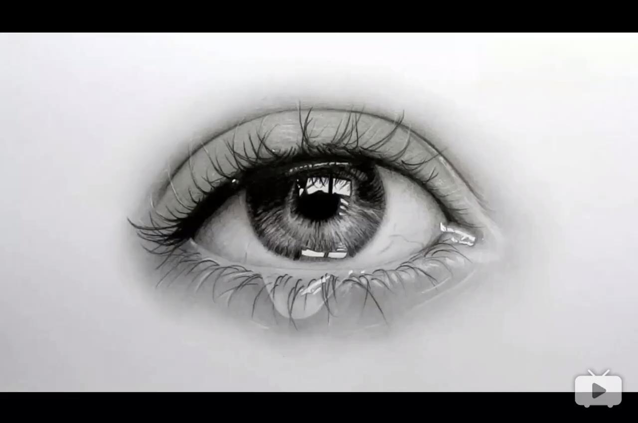 想要学习眼睛是如何画的,看过来吧。