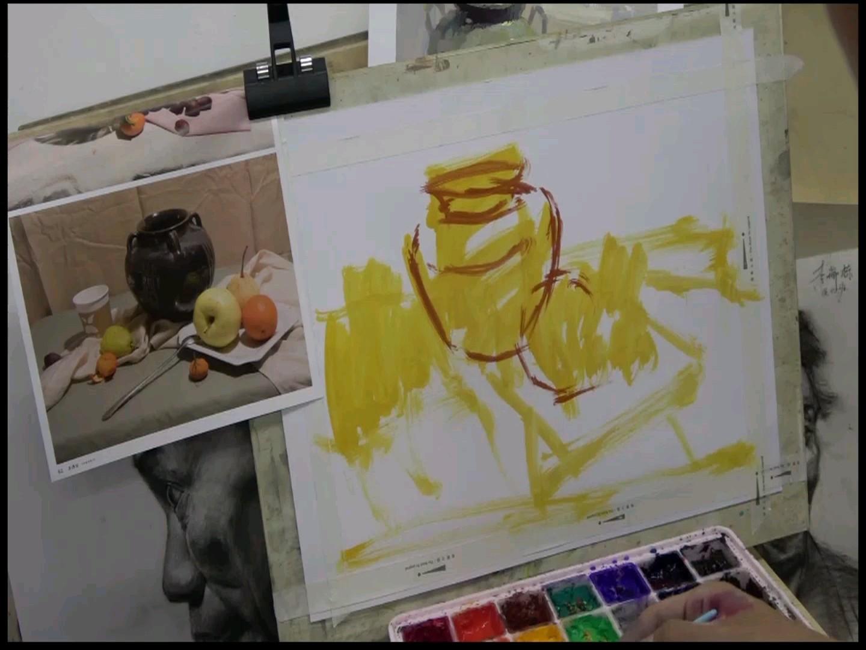 现鹏老师画色彩~基础色稿,半成品~有需要的同学自行保存