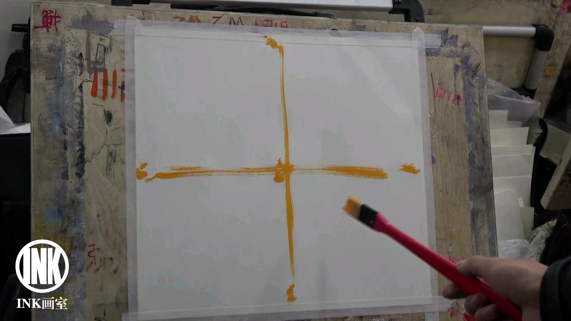 非常有用的构图讲解,衬布塑造。现鹏老师