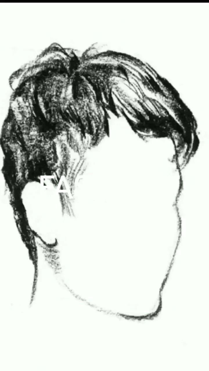 速写头发不会画的同学 看过来