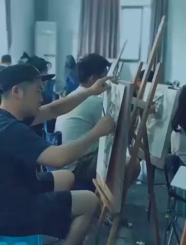 教师调研进行中... 为美术生的艺考路保驾护航[奋斗]