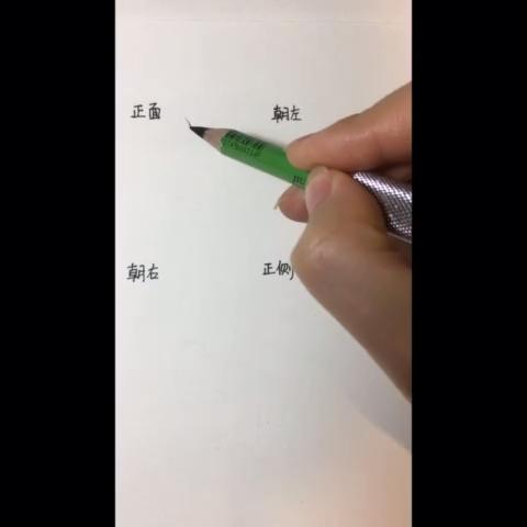 四个不同角度鼻子的简单画法🌚