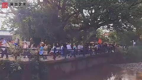 吴越艺术Vlog NO.8|《古堰画乡·吴越艺术》杭州吴越画室·丽水下乡写生季第六天·十五的月亮十六圆🌕