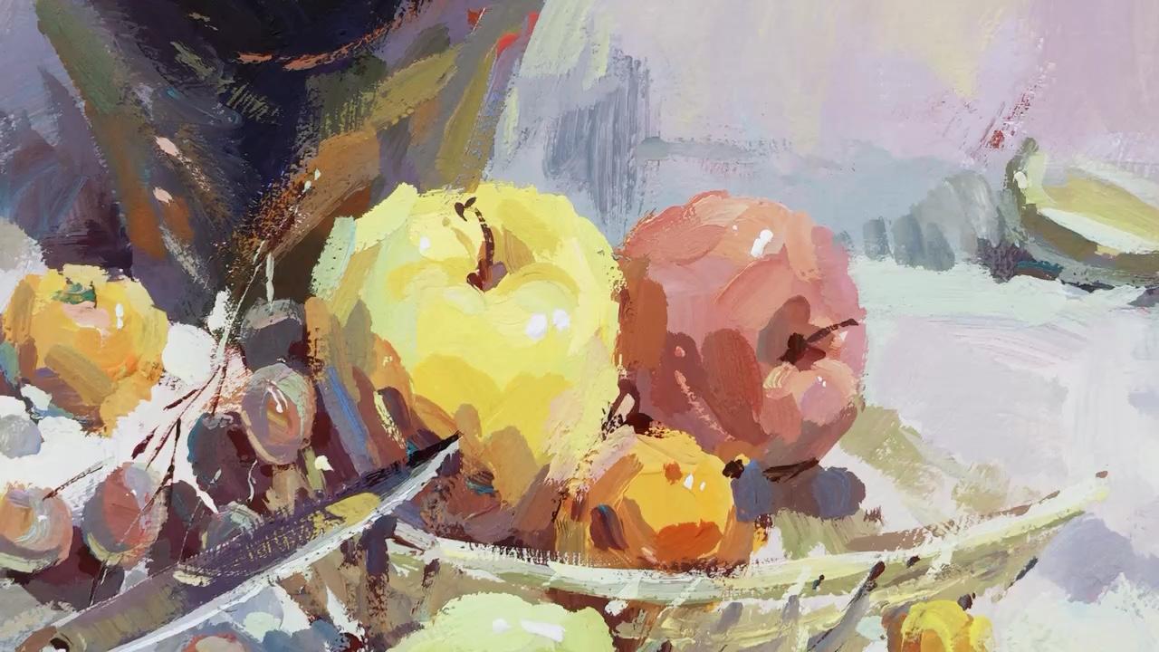 水果🥭静物来一波。画画在于坚持✊