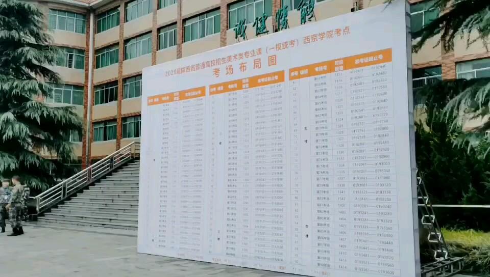陕西省第一次美术模拟联考
