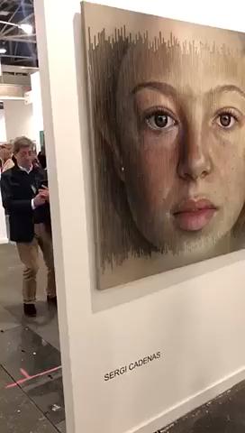 一幅画的少年迟暮,不同的角度表现出不同的年龄。