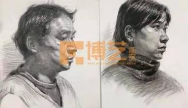 【北京博艺画室】素描中物体与物体之间的空间感