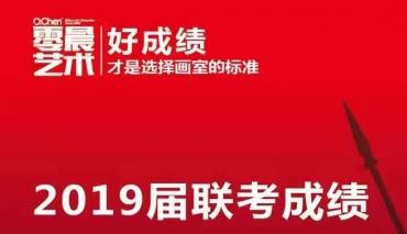 零晨美术学校2019届联考成绩