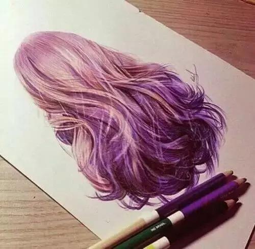彩铅头发不会上色?没有质感?没事,手把手教你!