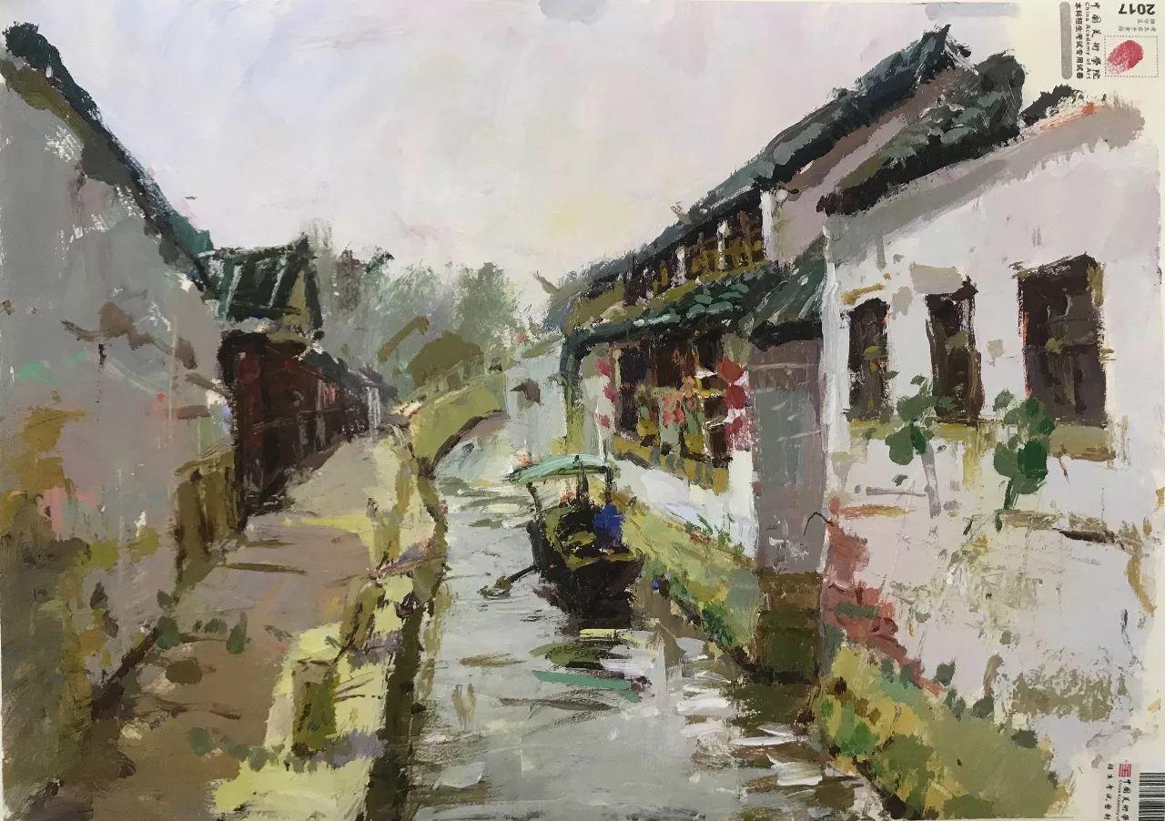 2017年中国美院素描、色彩、速写高分卷,快收图吧!