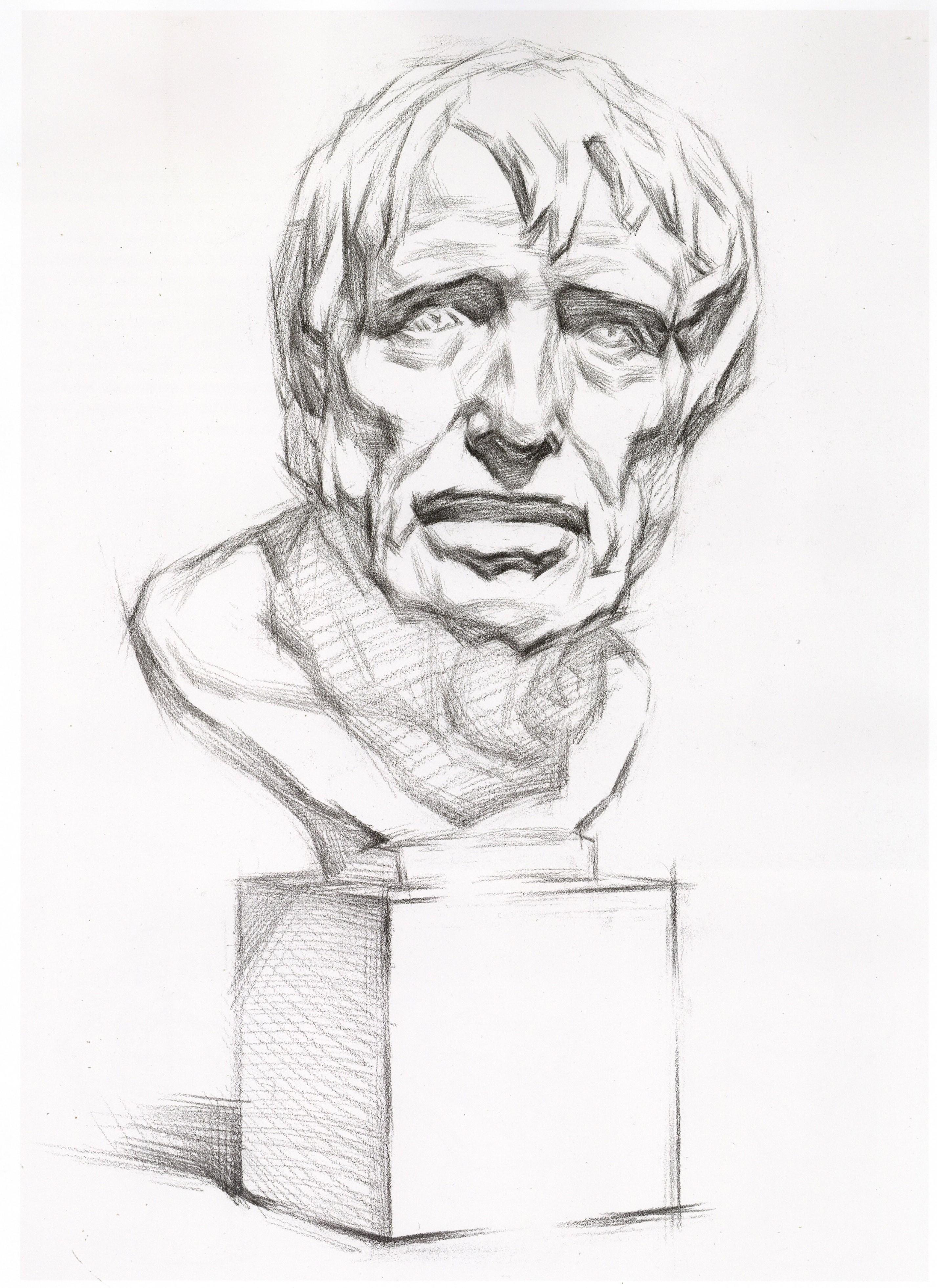 【干货】美术生必须要掌握的石膏像——海盗