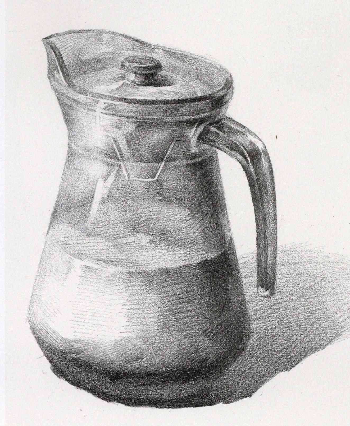 【干货】静物瓶子、瓦罐总画不好?很烦!很燥?请收下单体瓶罐教程