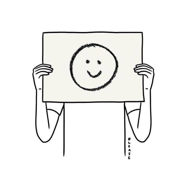 【夜读】又萌又丧的小插画,哪一张是你的日常?