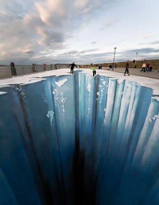 【趣玩】世界排名前5的街头艺术家,马路上搭建3D迷魂阵