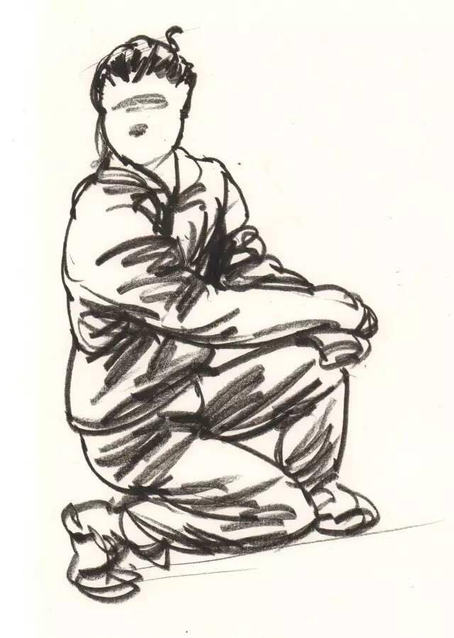 【干货】联考速写秘籍在手,站坐蹲姿都不怕