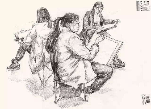 【高分卷】中国美术学院往届三科高分卷欣赏