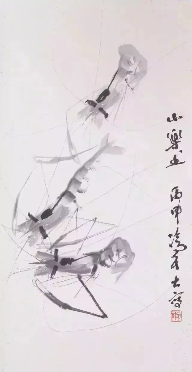 【夜读】冷军一只虾卖1万,齐白石一只虾卖672万,这高达100倍之多的差距究竟差在哪里??