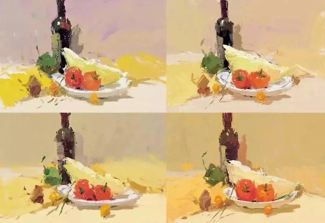 【超强干货】想画好高分色彩,小色搞练习必不可少