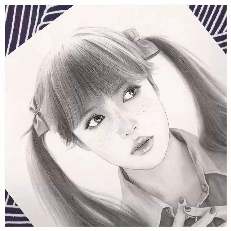 【大师作品】大神超强的铅笔美女肖像,光影的掌控令人赞叹!