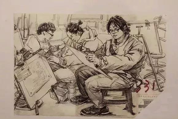 【校考必看】天津美术学院真题高分卷(速写篇)