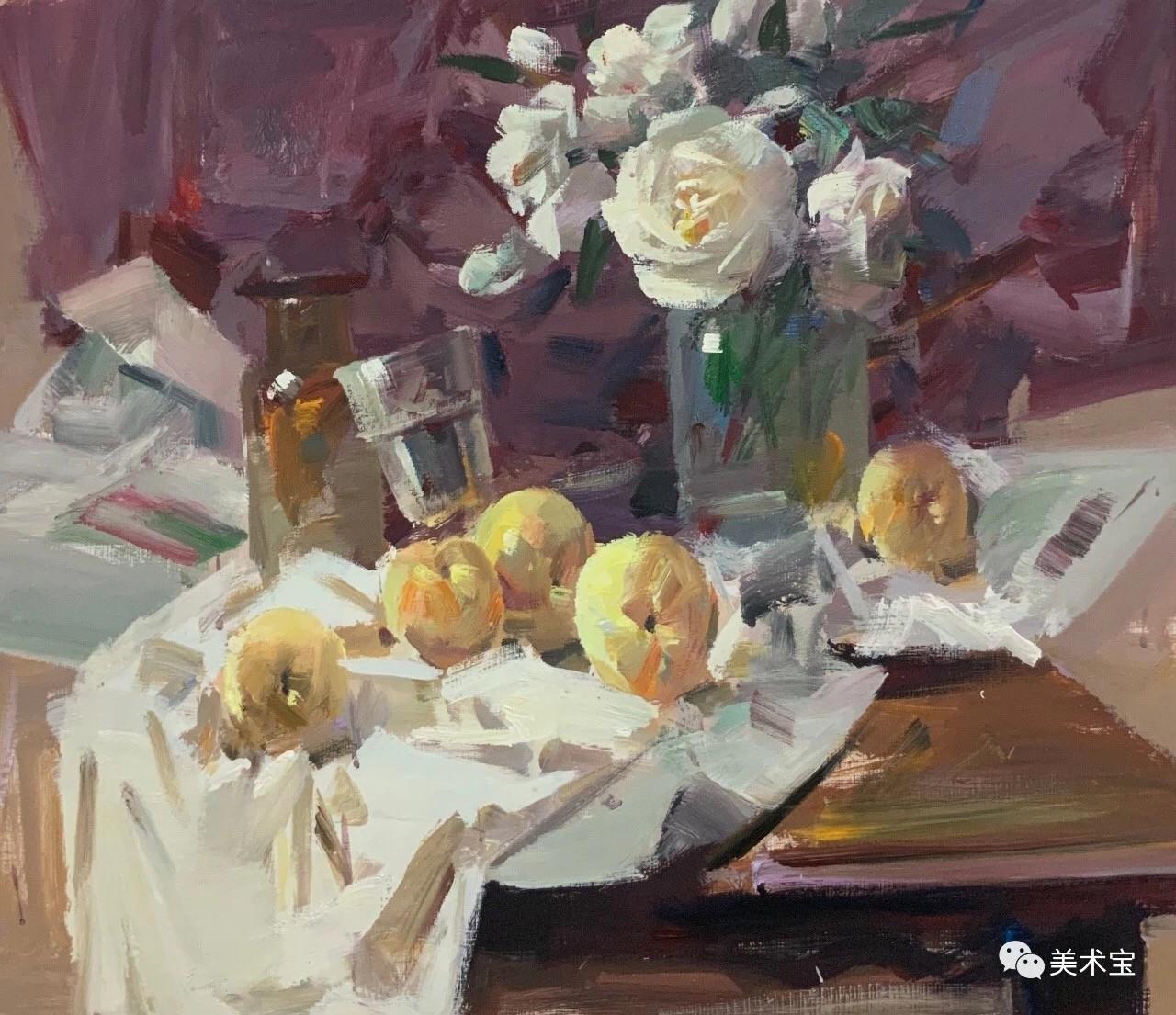"""美术宝超级名师刘晓明——多看他的色彩,助你克服""""平、花、粉、火、脏、灰""""!"""