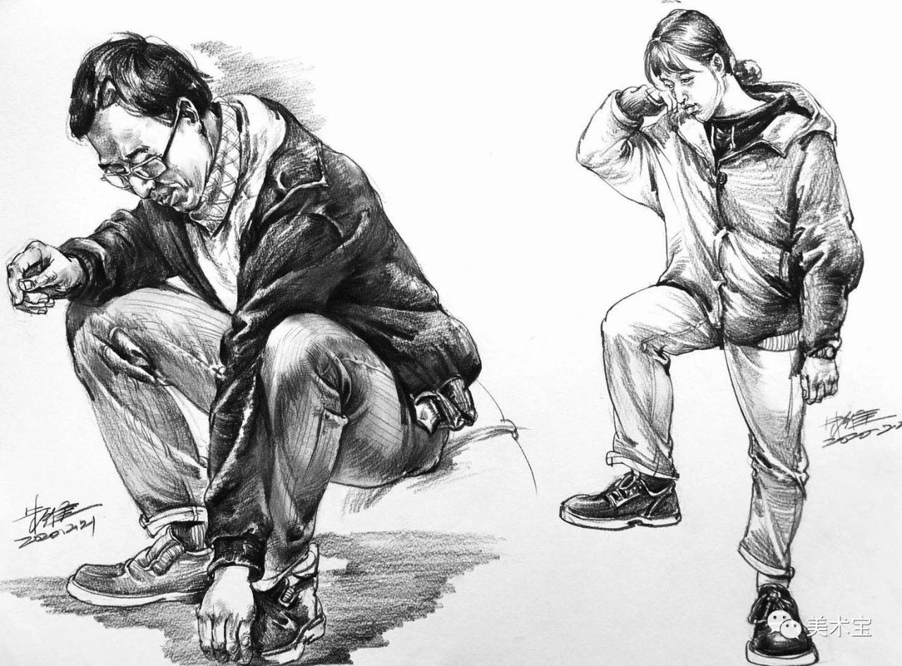 美术宝超级名师朱维——从动画专业到速写专长,他的作品中到底蕴含了怎样的魔力?