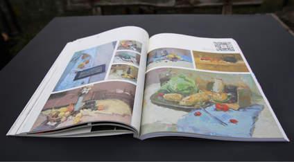 杭州吴越画室:精美2017版画册免费送啦,只要你是一名美术生,在下面回复