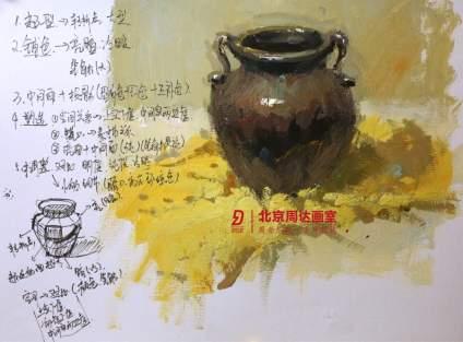 #北京周达画室# 今晚的温故而知新系列 -不同物体质感的刻画直播已经结束