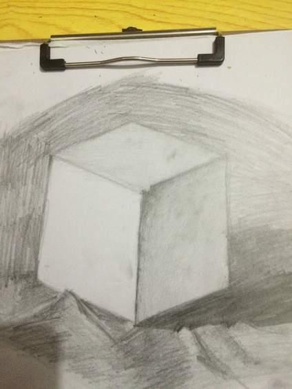 【点我评画~】老师,第一次画,求点评。