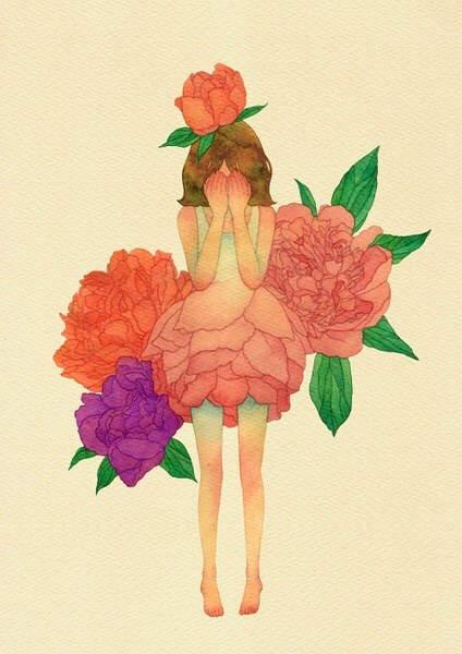 花与少女【作者·Daseotsi】