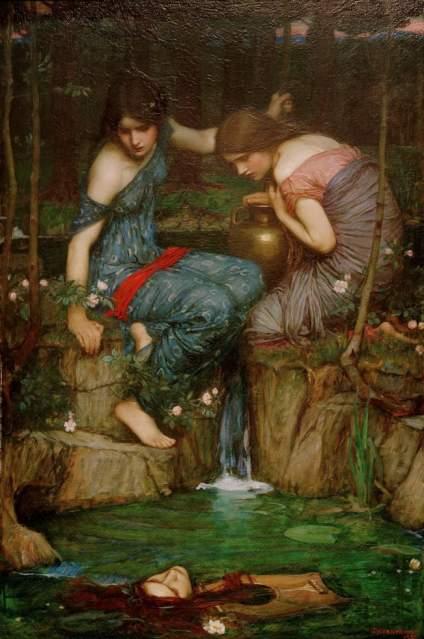 约翰.威廉姆.沃特豪斯,嗯,是个画女性很出名的新古典和拉斐尔前派画家