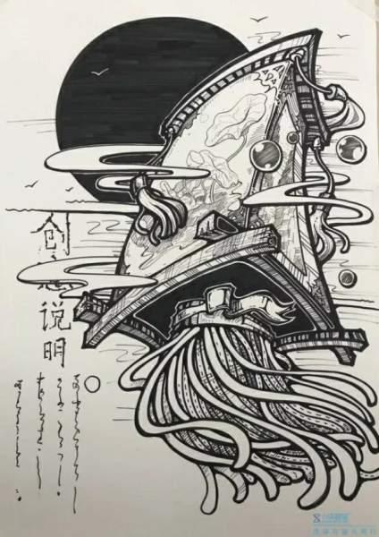 【考前美术小课堂!】创意设计,走起👉,你会画吗?不会问我呀!