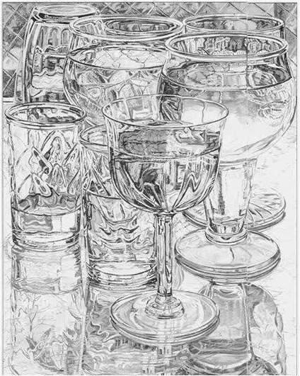 【中央美术学院】玻璃质感大家都画过吗?