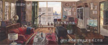 【北京电影学院】薪火美术部,北影双第一