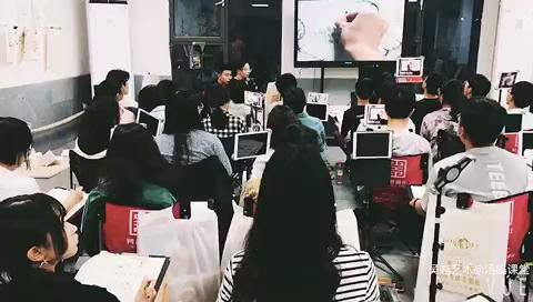 杭州吳越藝術速寫示范教學課堂,湯姐的速寫示范課堂[強]