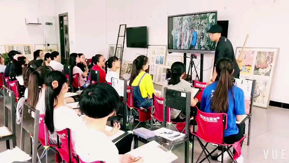 清华名师马潘燕 速写公开课👍