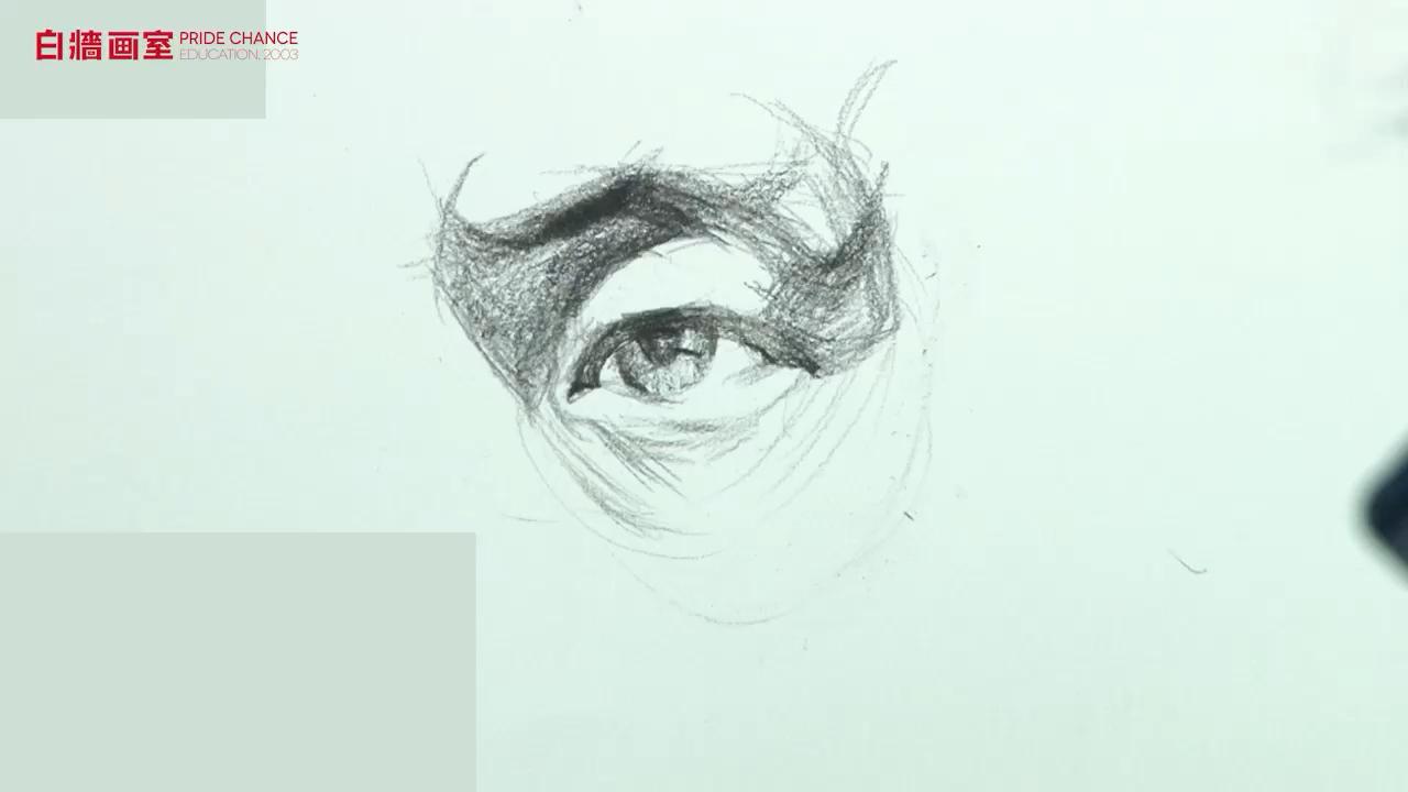 【高考美術培訓畫室】素描-五官-眼睛(二)