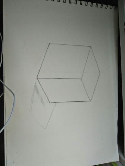 老师帮忙看一下可以上色了吗 能帮忙说一下透视吗 这个太难画了