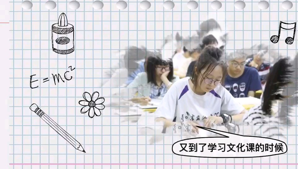 偶然間看到了去年同學們利用休息時間上文化課的照片,原來優秀的你們一直都是那么努力~