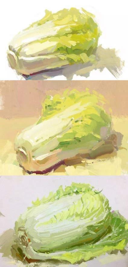 【滴~色彩卡】蔬菜单体篇来咯👍  希望我每个干货帖子的第一个整理的  都!不!要!
