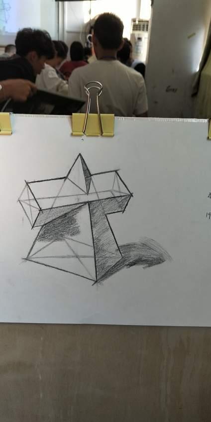 第1次画结构,希望老师评价一下
