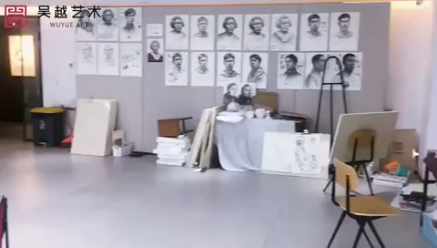吳越藝術Vlog No. 2019.10.9|杭州吳越畫室課堂之外,課后老師、同學們都很努力,利用下課時間自己加班[強]