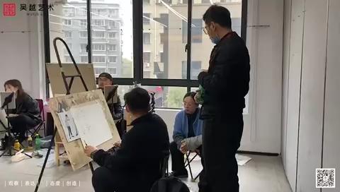 杭州吴越画室教师内训,素描、色彩、速写三个科目,分组内训,利用这段时间打磨团队和课程,抓教学、教研是根本[强]