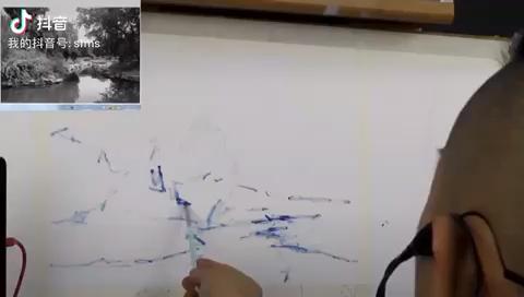 四方艺术教育 色彩风景范画直播 看看是不是你认识的老师