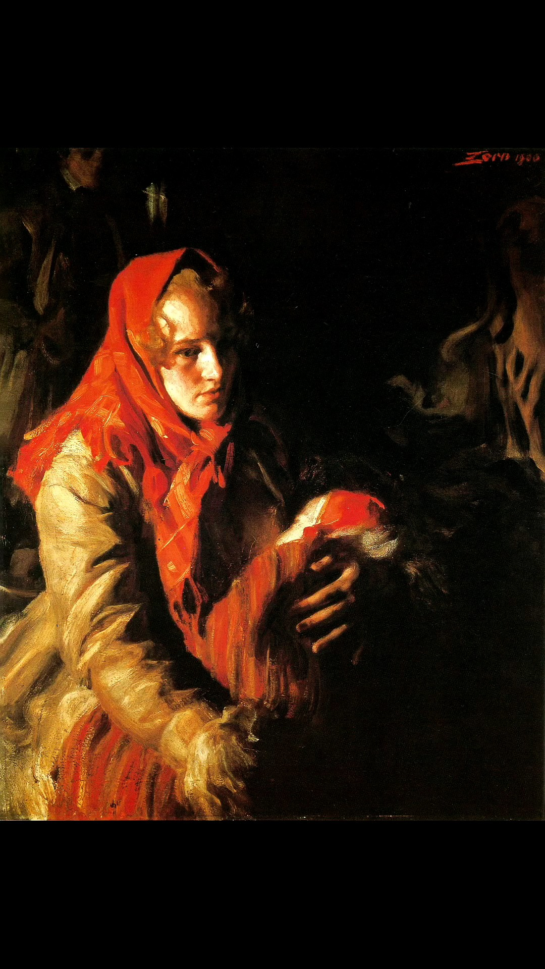 臨摹一張佐恩的作品來體驗音樂與繪畫的雙重享受吧